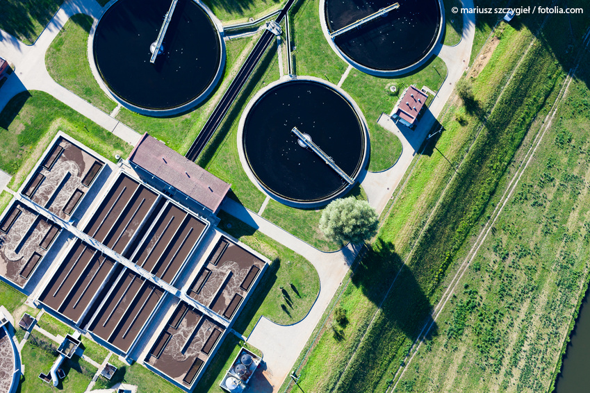 wastewater treatment plant ©MariuszSzczygie/AdobeStock.com